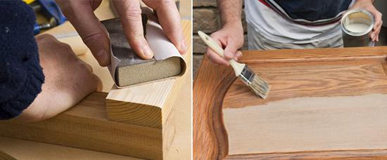 Pinturerias szumik temporada de lluvias hora de cuidar - Como barnizar una puerta de madera con pistola ...